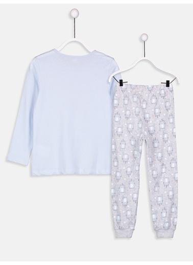 LC Waikiki Pijama Takım Mavi